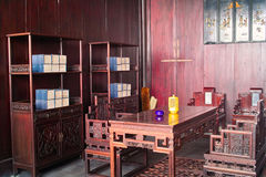 Chinese traditional style study stock photos