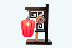 Chinese traditional table lamp Royalty Free Stock Image