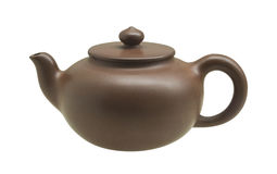 Chinese traditional teapot Stock Images