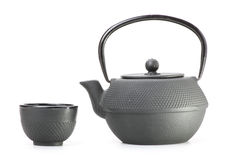 Chinese traditional teapot, isolated Stock Photography