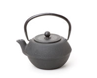 Chinese traditional teapot, isolated Royalty Free Stock Photos