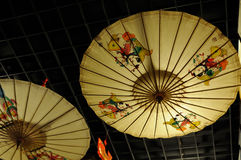 Chinese traditional umbrella Royalty Free Stock Photo