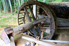 Chinese traditional waterwheel Royalty Free Stock Photos