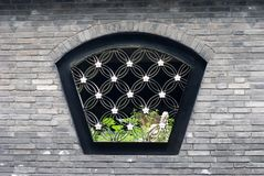 Chinese traditional window Stock Photo