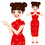 Chinese Traditional Woman Royalty Free Stock Images