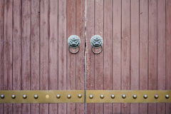 Chinese traditional wooden door Royalty Free Stock Image