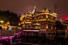 Chinese traditional Yuyuan Garden in Shanghai Royalty Free Stock Photos