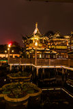 Chinese traditional Yuyuan Garden in Shanghai Stock Photography