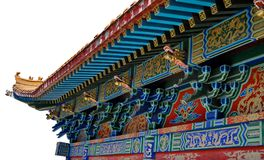 Chinese traditionele eaves Royalty-vrije Stock Afbeeldingen