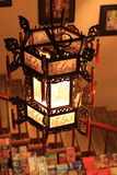 Chinese traditionele lamp Stock Foto's