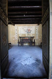 Chinese traditionele woonkamer Royalty-vrije Stock Afbeeldingen