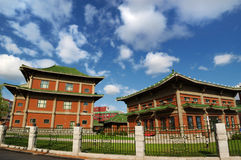 Chinese traditonal building Stock Images