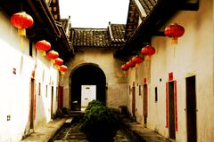 Chinese tradtional Hakka residential architecture Stock Photo