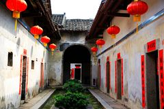 Chinese tradtional Hakka residential architecture Stock Images