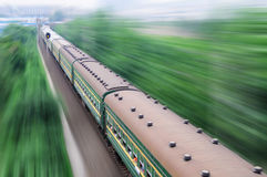 Chinese train Stock Photo