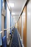 Chinese  train  interior Stock Photo
