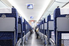 Chinese train's seat Royalty Free Stock Images