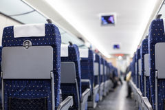 Chinese train's seat Stock Photos