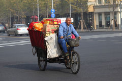Chinese transportation, Shanghai Royalty Free Stock Photography