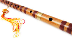 Chinese Transverse Flute, Dizi Royalty Free Stock Images