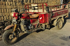 Chinese Tricycle Transporter Stock Photos