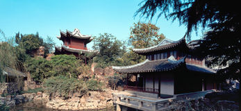 Chinese tuin stock afbeelding
