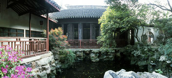 Chinese tuin royalty-vrije stock afbeeldingen