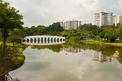 Chinese tuin, Singapore Stock Afbeeldingen
