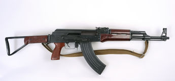 Chinese Type 56-2 assault rifle. Kalashnikov. Stock Photo