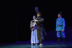 """Chinese type clarinet-Dance drama """"The Dream of Maritime Silk Road"""". Dance drama """"The Dream of Maritime Silk Road"""" centers on the plot of two generations Royalty Free Stock Photography"""