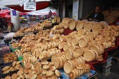 Chinese Uighur street vendor Royalty Free Stock Image