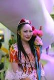 Chinese uighur women Stock Photo