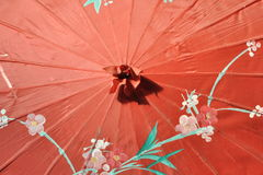 Chinese umbrella Royalty Free Stock Photography