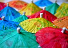Chinese umbrellas Stock Image