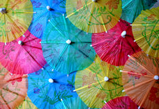 Chinese umbrellas Royalty Free Stock Image