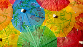 Chinese umbrellas Stock Photo