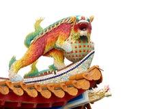 Chinese unicorn. Royalty Free Stock Photos
