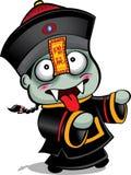 Chinese Vampire Papa. / Chinese Zombie stock illustration