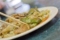 Chinese Varkensvlees Zwarte Bonen stock foto's