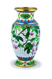 The Chinese vase. Royalty Free Stock Image