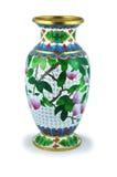 The Chinese vase. Royalty Free Stock Image