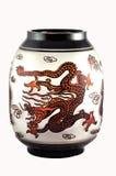 The Chinese vase. Royalty Free Stock Photo
