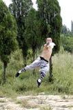 Chinese vechtsporten Stock Afbeeldingen