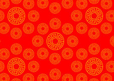 Chinese vector seamless patterns Stock Photo