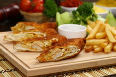Chinese Vegetable Egg Rolls Royalty Free Stock Photo