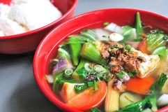 Free Chinese Vegetable Soup Royalty Free Stock Images - 15572699