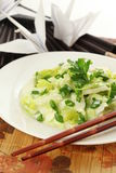 Chinese vegetarian meal Stock Photography