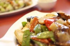 Chinese vegetarian tofu dish. Stock Photo