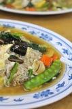 Chinese vegetarische bij hoon Stock Afbeelding