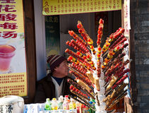 A chinese vendor Stock Images